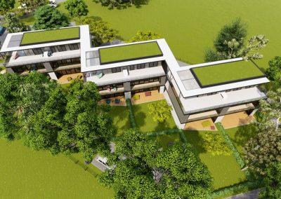 VillaparkAkarattya - látványkép - felülről